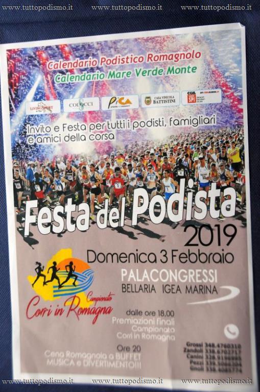 Il Calendario Del Podista.Festa Del Podista Premiazioni Corri In Romagna 2019