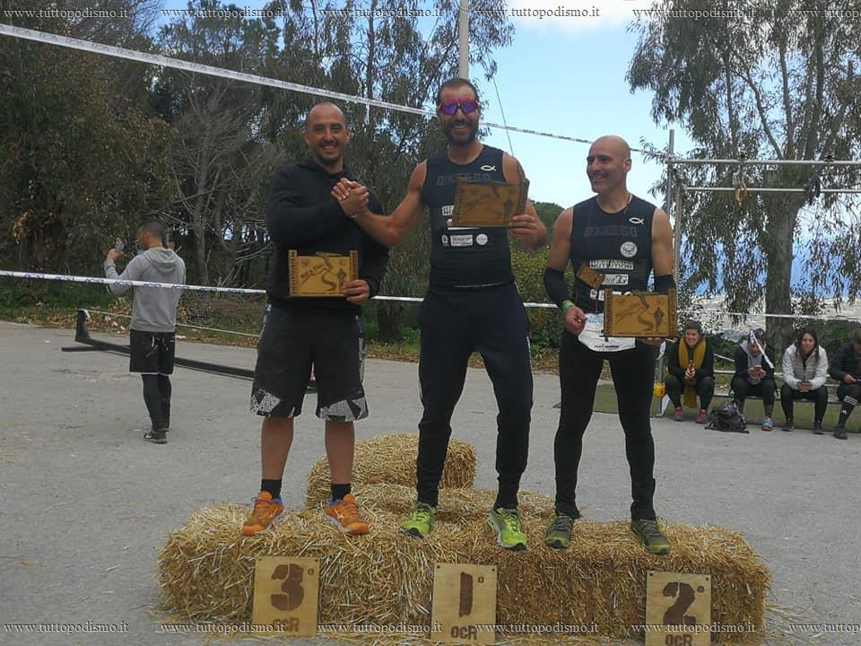 Warriors_Mud_Race_OCR_Trail_Citta_di_Alcamo_2019 - podio ocr extreme 12km maschile over 40.jpg